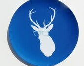 "Smarty Pants Deer 10"" Melamine Plate"
