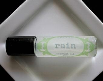 RAIN  Perfume Oil, Vegan Perfume, Floral Perfume, Natural Perfume