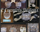 Made to order Trophy Buckle Displays