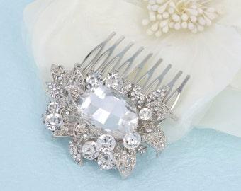 Dana - Rhinestone Bridal Comb Crystal Swarovski
