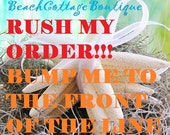 RUSH MY ORDER ~ 1 Day ~ 2 Day ~ 3 Day ~ 4 Day or 5 Day Packaging Time on Terrariums ~ Allow Additional  2-3 Days Ship Time
