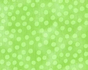 Marble Mate Dots Lime 3405 106 by Moda Fabric