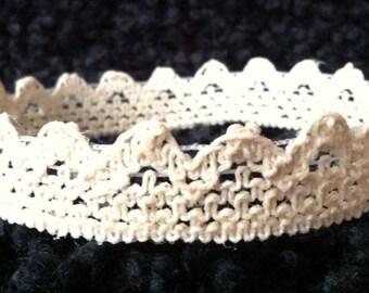 Baby G antique white crown