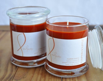 9 oz  Pumpkin Souffle Soy Jar Candle