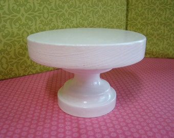 Barbie Furniture - Solid White Round Pedestal Coffee Table - FREE Shipping to anywhere in the USA.
