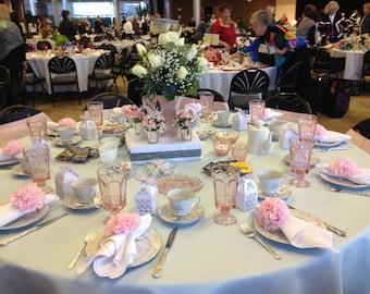 100 tissue paper napkin rings, pom pom napkin rings, wedding decor, napkin holders, bridal shower, tea party, party decorations, party decor