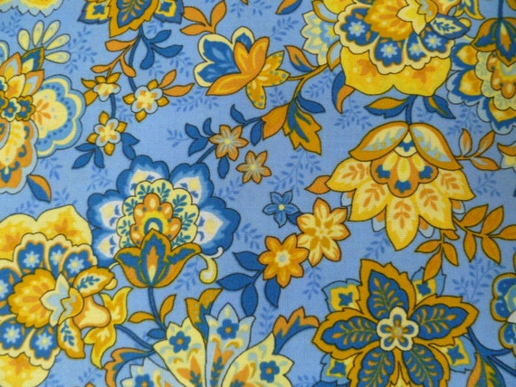 Hoffman Fabrics Treasures of Provence Style in Blue (D600)