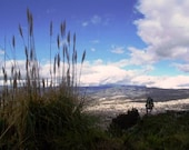 Ambato Ecuador City and Mountain Landscape Fine Art Photograph