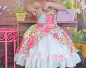 Girls princess dress LAST ONE size 3T ready to ship