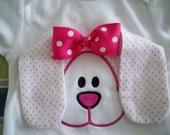 Girls Female Infant 3D Easter bunny onesie toddler T-shirt baby easter rabbit t shirt baby applique bodysuit