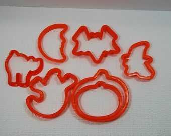 Halloween pack of Cookie Cutters HAL007