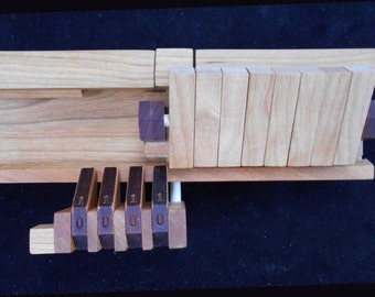 Hexadecimal Puzzle - limited production run of 190 cherry wood units in presentation box