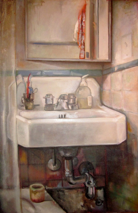 Le' Sink. Bathroom Art Original - 109.8KB