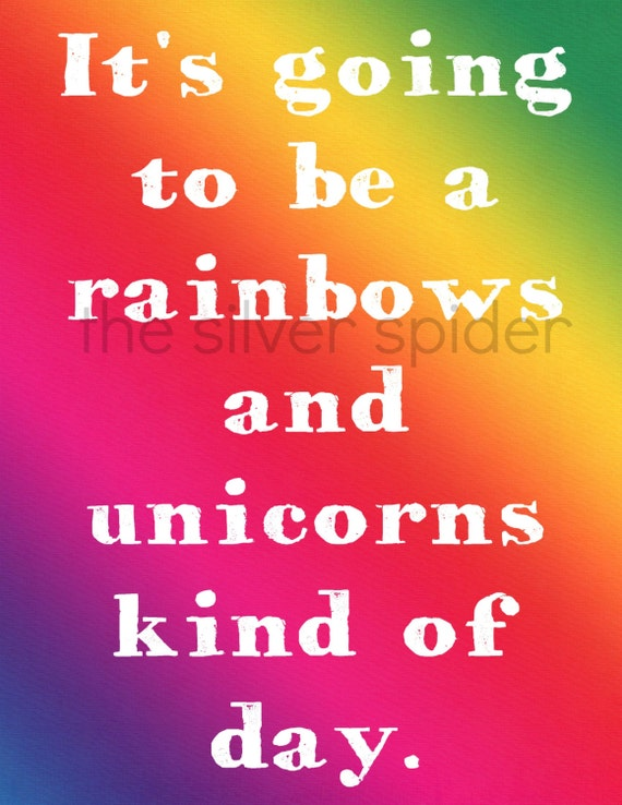 Items similar to it 39 s going to be a rainbows and unicorns for When was it s a wonderful life made
