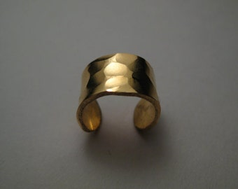 Textured Gold Fill Ear Cuff