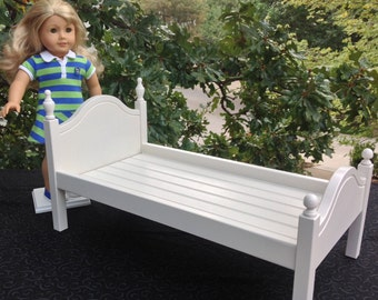 White  'Lil Elena doll bed 18 in American Girl Doll
