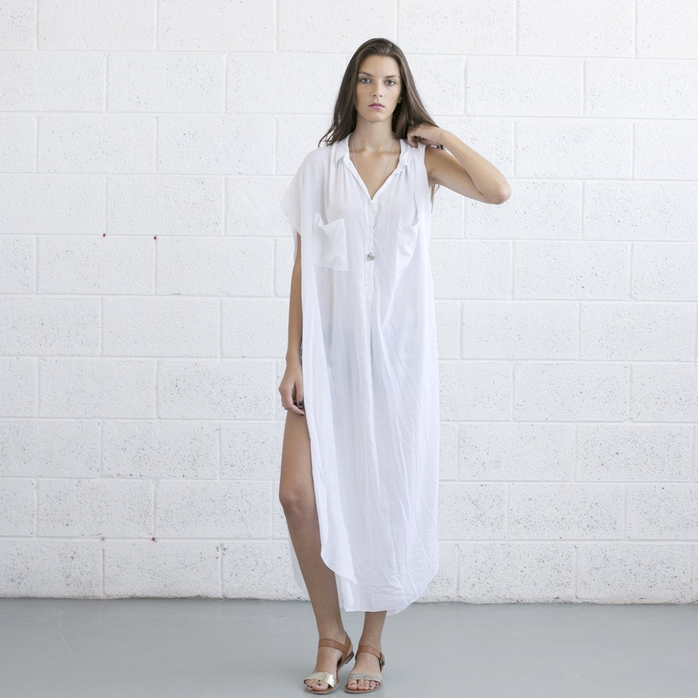 Long White Summer Dresses