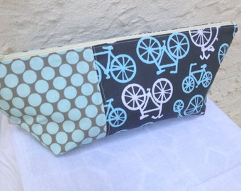 Bicycles Makeup Bag