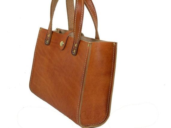 Tote Purse Bag Mini Leather P0155