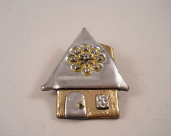 Habitat for Humanity House Pin Brooch