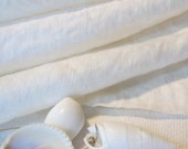 SALE - Double Washed Belgian Linen - Soft Natural Hand - 7.5 ounce - Vintage Look - Color:  Oyster - per yard