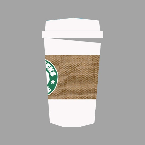 Starbucks Coffee Quilt Block Paper Pieced Quilt Pattern