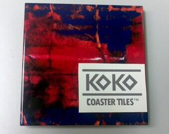Koko Coaster Tile No. 48 One Tile