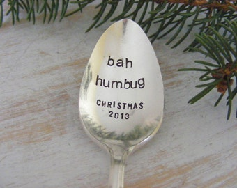 Christmas Spoons Pick One