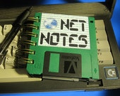 "Retro 3.5"" Floppy Disk Notebook"