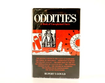"Vintage ""Oddities, A Book of Unexplained Facts"", Third Edition (c.1964) - Collectible, Oddity, Altered Art"