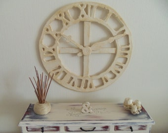 Dolls house clock & accessories-cottage/contemporary style OOAK