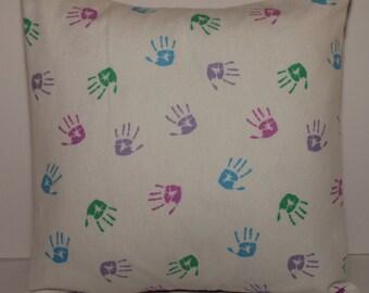 12x12 Little Hands Decorative Pillow
