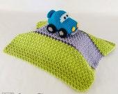 Racing Car Lovey / Security Blanket - PDF Crochet Pattern - Instant Download - Blankie Baby Blanket