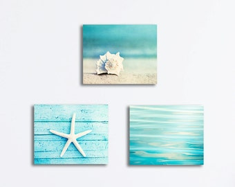 Beach Canvas Wall Art beach canvas print | etsy
