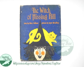The Witch of Hissing Hill Vintage Kids Book Hardcover