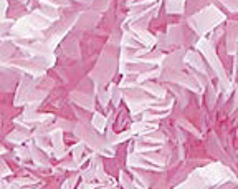 Cotton Candy Pink Crinkle Paper Gift Packaging Material