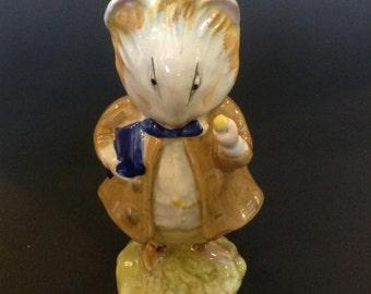 Beswick Beatrix Potter Amiable Guinea-Pig Figurine BP3b