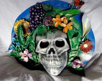 Leather Mask Lady Death Muertos Skull
