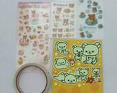 Rilakkuma Sticker Set