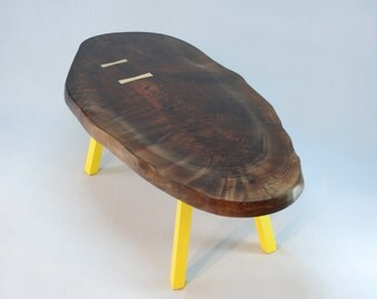 ThunderEgg Oval Coffee Table -- Limited Stock Walnut