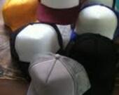 custom (any design your heart dreams up) trucker hat