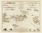 1775 Map of The Virgin Islands