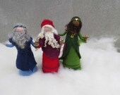 Felted Nativity Set : 3 Wise Man Size B