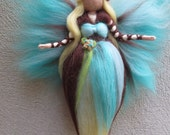 Vanilla Fairy needle felted and waldorf inspried
