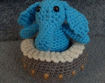 PDF File Crochet Pattern Hand crocheted Star Wars Max Rebo with Piano Jabba the Hut Band Amigurumi Doll