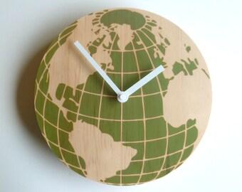 Objectify Globe Wall Clock