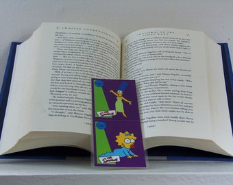 Marge and Maggie Simpson Bookmark - Marge Simpson Bookmark - Maggie Simpson Bookmark - The Simpsons Bookmark -Marge Simpson - Maggie Simpson