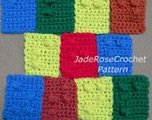 Crochet Pattern Braille Alphabet, Braile Letters Crochet Pattern, All 26 Letters in PDF 303