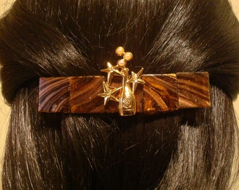 Large Barrette for Thick Hair Celebration of Love