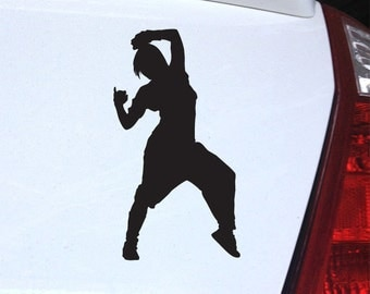 Hip Hop B Girl Decal - Breakdancing Dance for Laptop, Car